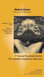 7th Annual Psychiatry Review The Impulsive-Compulsive Spectrum