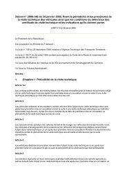 Décret n° 2000-148 du 24 janvier 2000, fixant la périodicité ... - REME