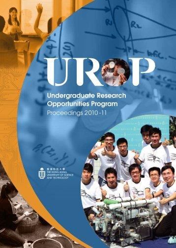 UROP Proceedings 2010-11