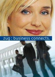 zug : business connects. - Gruenderportal.ch