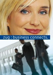zug : business connects. - Gruenderportal.ch