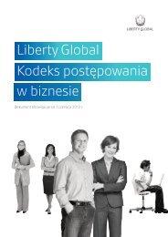Liberty Global Kodeks postępowania w biznesie