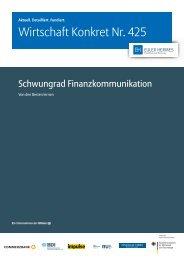 Wirtschaft Konkret Nr. 425 - Wirtschaft Konkret by Euler Hermes