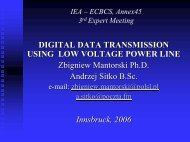 Digital Data Transmission Using A Low Voltage Power Line
