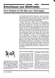 Heft 16 Tibet & Buddhismus