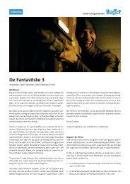 De Fantastiske 3 - Buster.dk