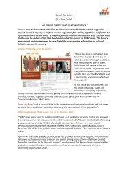 Portal das Artes (The Arts Portal) - DNA Cascais