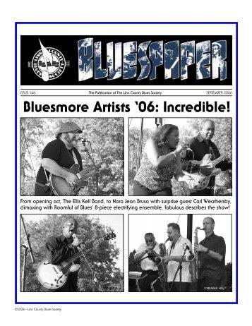 September 2006 - Linn County Blues Society