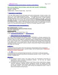 SPREAWS Profile Page 1 of 13 SRI K.PITCHI REDDY ... - Global Hand