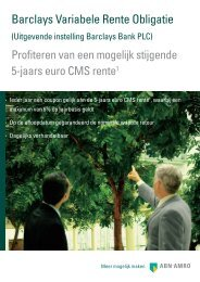 Brochure(568,52 KB) - ABN AMRO Markets