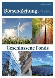 Investieren in Sachwerte - Börsen-Zeitung