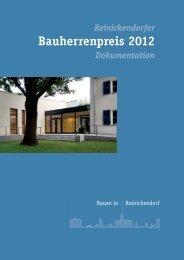 Reinickendorfer Bauherrenpreis 2012 Dokumentation - D:4