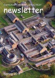 Spring 2011 issue - Clwyd-Powys Archaeological Trust