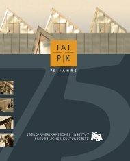 75 Jahre Ibero-Amerikanisches Institut (brochure)