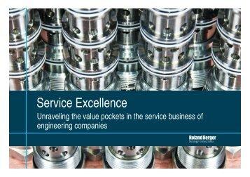 Presentation / Service Excellence - Roland Berger (PDF, 403 KB)