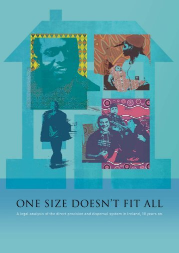 One Size Doesn't Fit All - FLAC (Free Legal Advice Centres)
