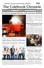 March 29, 2013 - Colebrook Chronicle