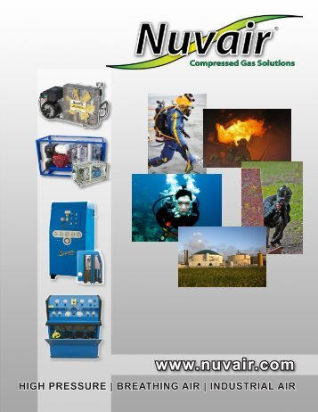 Fire and Industrial Air Compressor Brochure - Nuvair