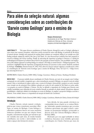 Full version PDF - IGEO- Unicamp