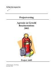 Projectverslag Agressie en Geweld Benzinestations ... - Arbomobiel