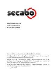 1. Äußere Form der Arbeit - Secabo
