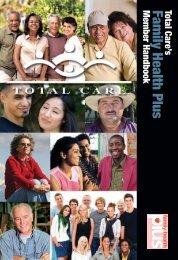 Family Health Plus Member Handbook - Total Care