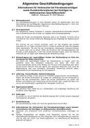 Allgemeine Geschäftsbedingungen - AUBU.DE - Shop Katalog ...
