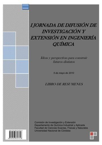 Libro de resúmenes - Facultad de Ciencias Exactas, Físicas y ...