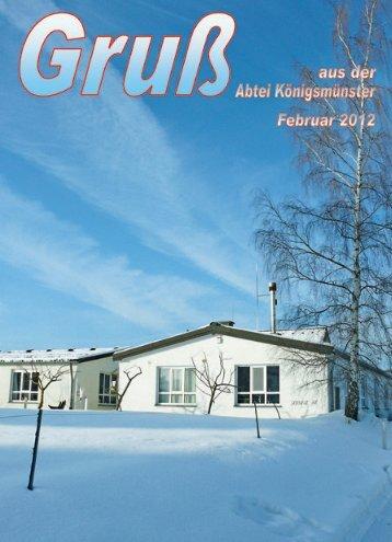 Gruß Februar 2012 - PDF-Download - Abtei Königsmünster