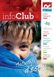 N#63 Abril +ok.indd - Club Natació Rubí