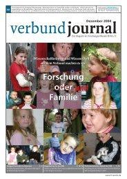 Forschung oder Familie - Forschungsverbund Berlin