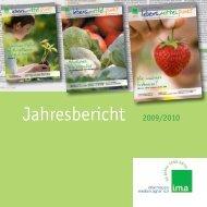 PDF-Datei Jahresbericht 2009/2010 - information.medien.agrar eV
