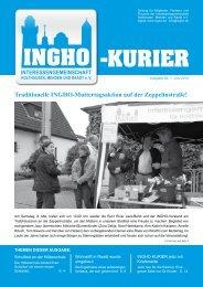 Traditionelle INGHO-Muttertagsaktion auf der Zeppelinstraße!