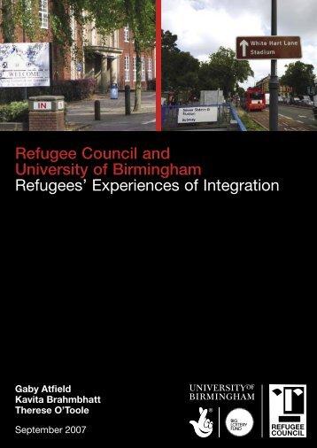 Refugees - Social Welfare Portal