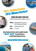 Keep Sydney Ferries in Public Hands - Page 2