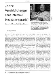 Heft 47 Tibet & Buddhismus - Tibetisches Zentrum ev