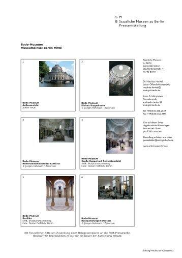 Pressebilder Bode-Museum.qxp - Staatliche Museen zu Berlin