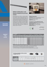Multiflex UI-CAP: Small bore, mechanically strong and ... - Anamet