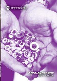 CSL Annual Report - Capricorn Society