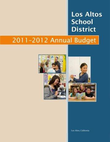 2011–2012 Annual Budget - LASD Board Matters