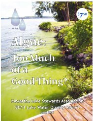 Too Much of a Good Thing? - Lakefield Herald