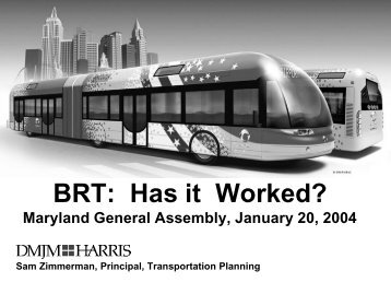 BRT Case Studies - Bus Rapid Transit Policy Center