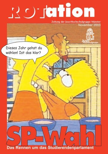 langweilig? Nicht bei uns! - Jusos Hochschulgruppe Münster