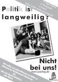 langweilig? Nicht bei uns! - Jusos Hochschulgruppe Münster - Seite 2