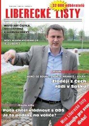 Uber plyn! - Liberecké listy
