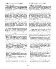 18 Analýza stavu technického zajištění zemědělské výroby ... - SVT