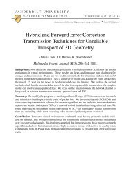 Hybrid and Forward Error Correction Transmission Techniques for ...