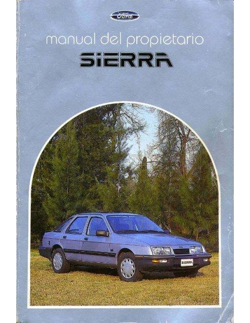 Tablero de Instrumentos - Ford Sierra Net