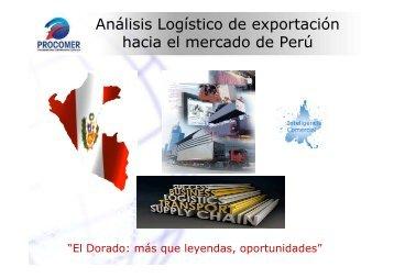 Análisis Logístico de exportación hacia el mercado de ... - Procomer