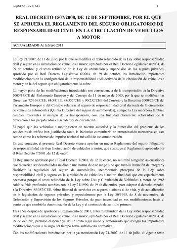 Decreto supremo 23318 a reglamento de la responsabilidad for Seguro responsabilidad civil autonomos obligatorio